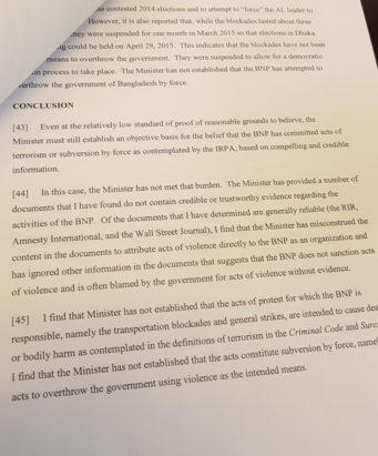 BNP decision page